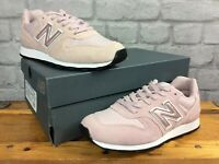 NEW BALANCE 996 LADIES UK 4 EU 36.5 M METALLIC PINK SUEDE TRAINERS RRP £85