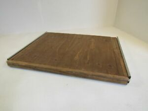 Handcrafted Slideout Cabinet Shelf 22-7/8in L x 27-1/2in W x 1-5/8in H Plywood