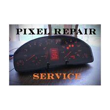 AUDI TT A4 S4 A6 ALLROAD CLUSTER CENTRAL LCD MISSING PIXELS REPAIR SERVICE