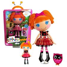 """New Lalaloopsy Limited Edition 12"""" Tall Button Doll Bea Spells-a-Lot + Owl+Bonus"""