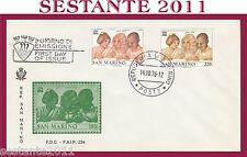 SAN MARINO FDC FAIP F.A.I.P. UNESCO 1976 (306)