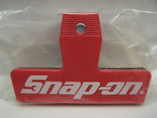 **NEW** Snap On Tools Red Black And White Spring Action Logo Clip