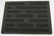 N Gauge Railway Foam Case Tray Insert - Train Storage  - 360mm x 265mm