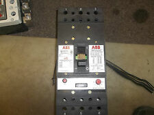 ABB 300 AMP BREAKER WITH SHUNT TRIP AND AUX LUG TO LUG
