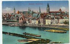 Alte Ansichtskarte Postkarte Bremen Panorama farbig