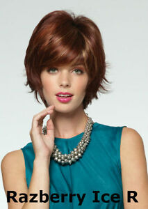Ryan Razberry Ice R Full Bodied Layer Cut with Full Fringe Synthetic Wig