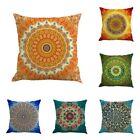Bohemian Indian Mandala Hippie Cushion Cover Sofa Throw Pillow Case Home Decor #