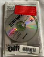 New In Package Sealed Microsoft Office 97 Small Business Edition CD Roms
