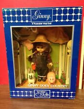 """1984 Ginny Goes Country 8"""" Doll Shirley's Doll House Ltd. Ed. By Vogue Dolls"""
