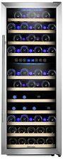 Kalamera KRC-73BSS Weinkühlschrank bis zu 73 Flaschen für Rot und Weißwein