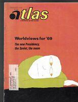 Atlas Magazine December 1968 Worldviews for 1969 Koreans in Japan