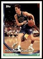 1993-94 Topps Christian Laettner Minnesota Timberwolves #27