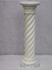 Säule Blumensäule Tisch Design Barock Säulen Antik Stuckgips Deko 1013 Crem