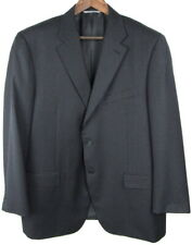 Canali 1934 Wool Gray Stripe Suit US 48R EU 58