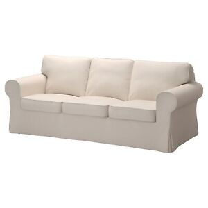 New IKEA EKTORP 3 seat Sofa cover (COVER ONLY), Lofallet beige 903.217.04