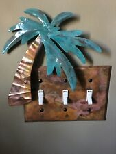 3 Way Tropical Light Switch Plate Cover