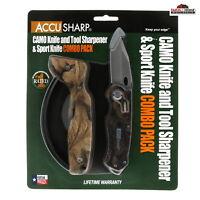 AccuSharp Camo Knife and Tool Sharpener ~ NEW