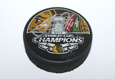 JONATHAN TOEWS Signed Chicago Blackhawks 2013 Stanley Cup Champions Hockey Puck