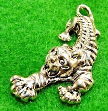 10Pcs. Tibetan Silver Large TIGER Charms Pendants Earring Drops Findings AN071