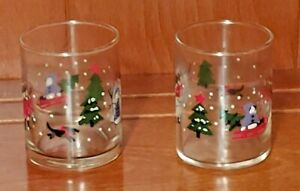 Pfaltzgraff Snow Village Votive Holders Christmas Discontinued