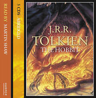 The Hobbit by J. R. R. Tolkien (CD-Audio, 2000)5 CD AUDIO BOOK NEW UNPLAYED