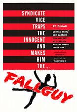 FALLGUY (1962) Starring Ed Dugan & George Andre Dir. by Donn Harling **RARE**