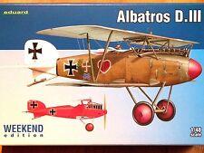 Eduard weekend edition 1:48 albatros d. iii aircraft model kit