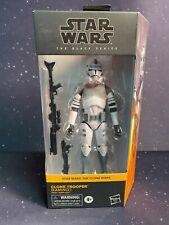 2020 Star Wars Black Series #01 Clone Wars Clone Trooper (Kamino) c8/9 In Hand