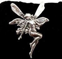 Vintage Fairy Nymph brooch.