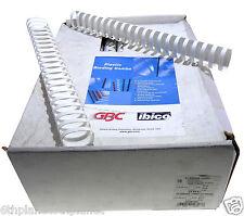 50x GBC White Binding Combs A4 38mm 21 Ring 4028205