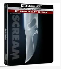 SCREAM EMPTY STEELBOOK No Blu-ray, No 4K, No Digital CASE ONLY!