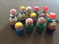 Vintage Fisher Price Little People Mixed Figure ~ Low Grade Lot