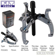 Fit Tool 3 Jaws / Arm-Gear Puller Professional Quality Drop Forged ( 75 mm )
