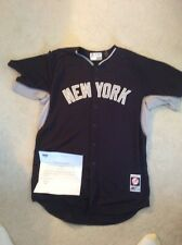 NY Yankees 2015 Game Issued Road BP Top Jersey (Bailey/Severino) #40 size 50