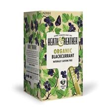 💚 Heath & Heather Organic Cassis Infusion 20 bags