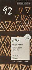 Vivani Dark Chocolate - 92% Cocoa - 80g