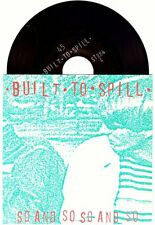 "Built to Spill ""So And So"" 7""OOP Modest Mouse The Treepeople Death Cab For Cutie"