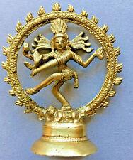 Tandav Dancing Nataraj Nataraja Shiva Brass Statue Hinduism