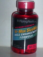 VI-MAX SIZEMAX MALE ENHANCEMENT FORMULA ENLARGEMENT PENIS SUPPLEMENT 60 CAPLETS