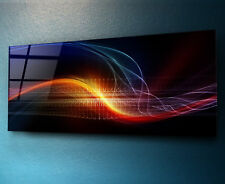 Glass Print Wall Art 125x50cm Image on Glass Decorative Wall Picture 86886610