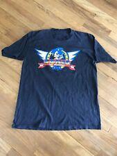 Vintage 1992 Sonic Hedgehog Sega Promo Tee Shirt Men's Size L/XL Single Stitch