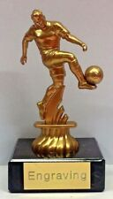 Footballer Gold Trophy (Superb Quality) + FREE POST & ENGRAVING