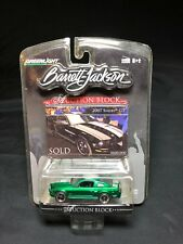 Greenlight Auction Block 2007 Ford Mustang Shelby GT GREEN MACHINE RARE!