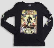 "Harley-Davidson Women's Long SLeeve Black shirt ""motor queen"" Small"