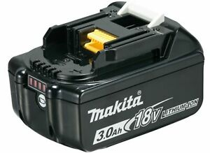 Makita Original Ersatz Akku BL1830B 197599-5 Lithium-Ionen 18 V 3,0 Ah Li-Ion