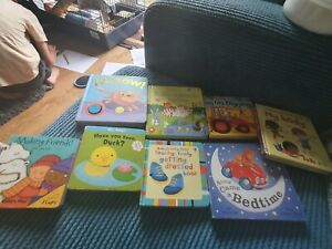 Baby board books bundle used