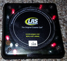 LRS Long Range Systems Coaster Call Restaurant Pager R8500 RX-CS4NP 250 in stock