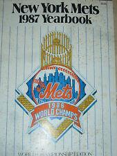 New York Mets 1987 Yearbook