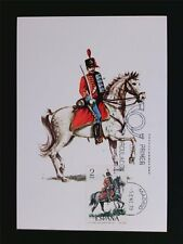 SPAIN MK 1978 SOLDAT REITER PFERD HORSE SOLDIER CARTE MAXIMUM CARD MC CM c5414