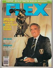 FLEX Bodybuilding Muscle Fitness Magazine BEN WEIDER /Larry Scott 10-86
